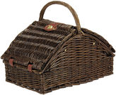 Household Essentials Willow Picnic Basket - Service for 4