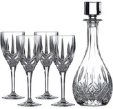 Royal Doulton Wine Decanter Set: Decanter & 4 Wine Glasses