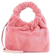 The Row Double Circle Small mink fur tote