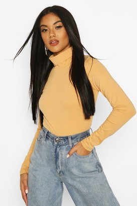 boohoo Long Sleeved Roll Neck Top