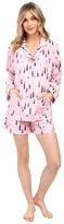 BedHead Long Sleeve Shorty Bottom Pajama Set
