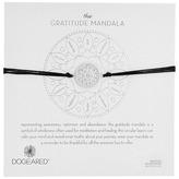 Dogeared Gratitude Mandala Center Flower Silk Bracelet