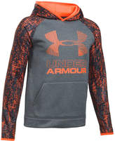 Under Armour Boys' Armour Fleece Printed Big Logo Hoodie
