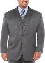 Jf J.Ferrar Pin Dot Classic Fit Suit Jacket-Big and Tall