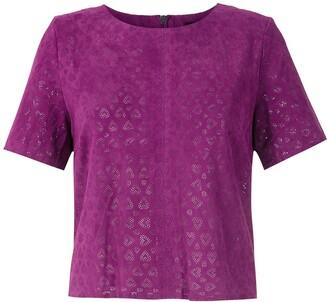 Eva Coracoes chamois blouse