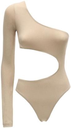 Fantabody Carolina Embellished Microfiber Bodysuit