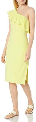 Velvet by Graham & Spencer Women's Stretch Jersey One Shoulder Dress