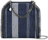 Stella McCartney denim striped Falabella tote - women - Cotton/Acrylic/Viscose - One Size