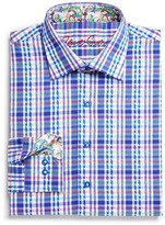 Robert Graham Boys' Bowfin Plaid Button Down Shirt - Sizes S-XL