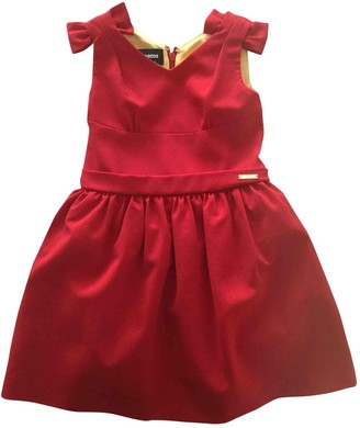 DSQUARED2 Red Viscose Dresses