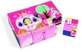 Janod 12-Piece Learning Toys Fairy Tale Blocks