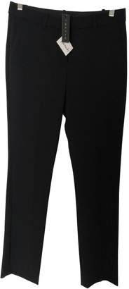 Theory Black Viscose Trousers