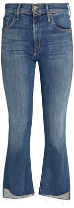 Mother The Insider Cropped Step-Hem Jeans