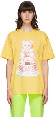 Moschino Yellow Teddy Cake T-Shirt