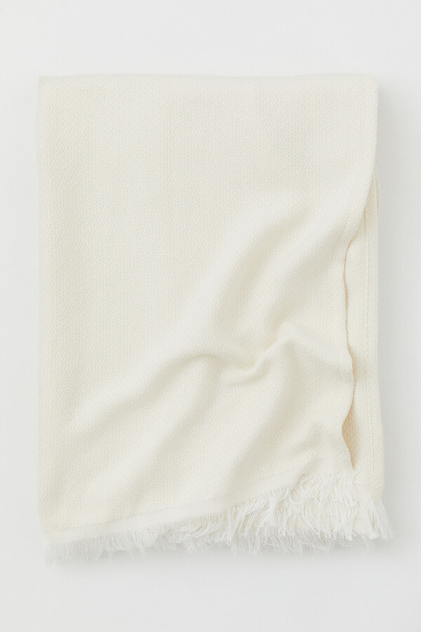Thumbnail for your product : H&M Jacquard-weave blanket