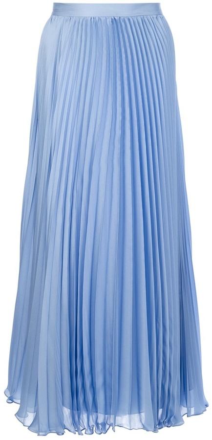 Ralph Lauren Blue Label pleated maxi skirt