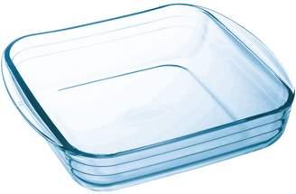ÔCuisine 1.7-Quart Square Glass Roaster