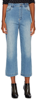 Tibi Wash Cropped Jeans