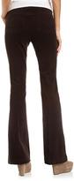 Isda & Co Flare Corduroy Pants, Dark Brown