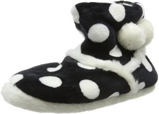 Eaze Spot Pom Slipper Women's Hi-Top Slippers