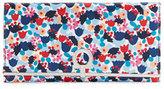 Salvatore Ferragamo Gancio Clasp Floral Continental Wallet, Multicolor