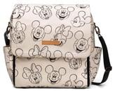 Petunia Pickle Bottom Infant Boxy Backpack - Disney Diaper Bag - White