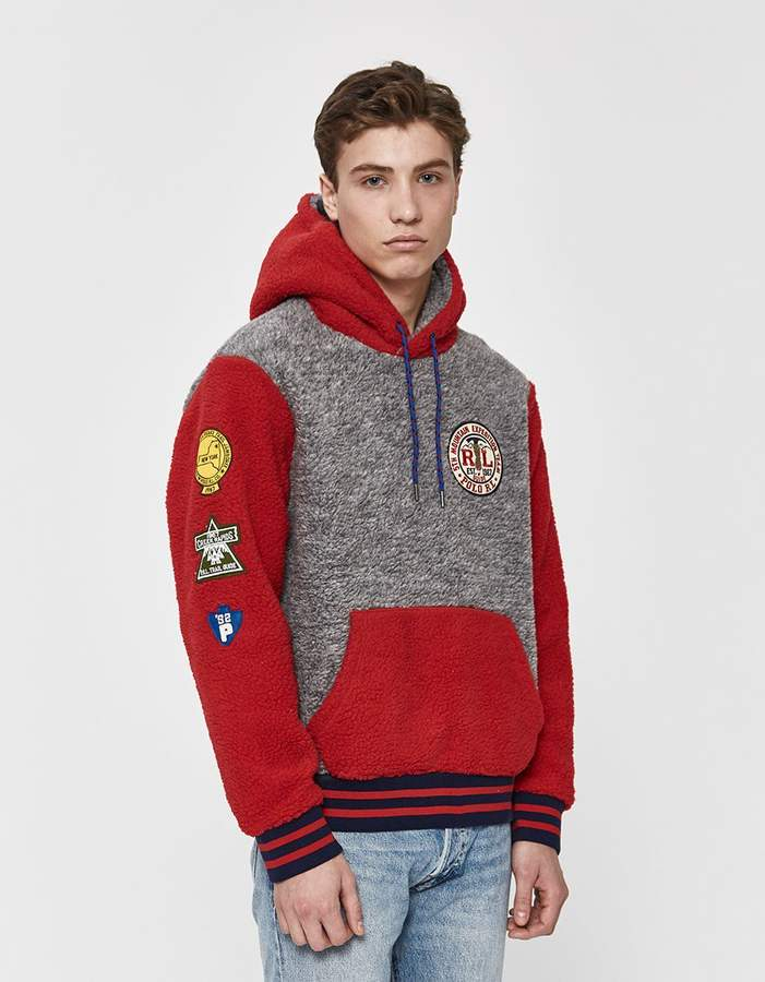 7715ad4be5be Mens Sherpa Pullover - ShopStyle