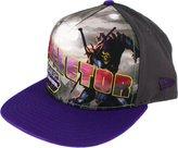 New Era Skeletor Villain Post Snapback Cap, /Purple