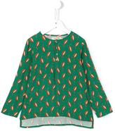 Nice Things 'Geo Leaves' blouse