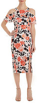 Jax Cold Shoulder Floral Sheath Dress