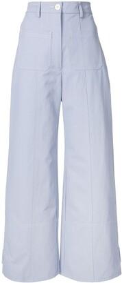 Lee Mathews Queenie wide-leg trousers