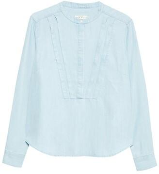 Jack Wills Somerley Pretty Pintuck Shirt