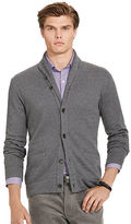 Polo Ralph Lauren Jacquard Fleece Shawl Cardigan