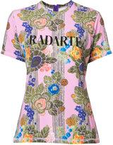 Rodarte Radarte T-shirt - women - Polyester/Spandex/Elastane - XS
