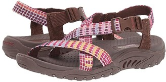 Skechers Reggae - Sew What (Brown Multi) Women's Shoes