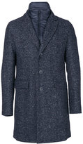 Herno padded underlay buttoned coat - men - Acrylic/Polyamide/Polyester/Wool - 46