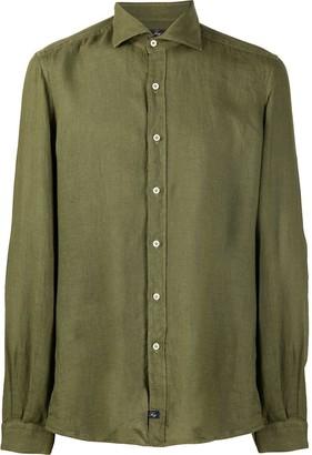 Fay Plain Long-Sleeved Shirt