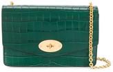 Mulberry Darley crocodile-effect crossbody bag