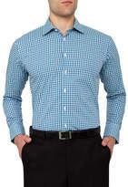 Calvin Klein Dobby Gingham Check Slim Fit Shirt
