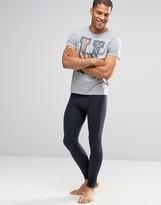 Tommy Hilfiger Super Skinny Long Johns In Navy