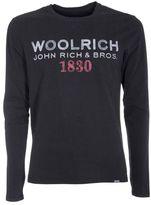 Woolrich Logo Print Sweatshirt