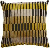 Linea Block stripe cushion