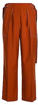 Marni Women's Tropical Wool Cropped Trousers