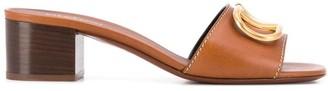 Valentino VLOGO low-heel sandals