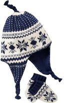 Old Navy Fair Isle Trapper Hat & Mitten Sets for Baby