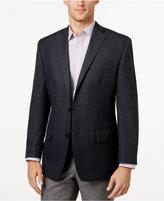 MICHAEL Michael Kors Men's Classic-Fit Blue Houndstooth Sport Coat