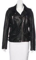 IRO Leather Laser-Cut Jacket