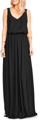 Show Me Your Mumu Kendall Blouson A-Line Gown