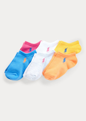 Ralph Lauren Athletic Low-Cut-Sock 6-Pack