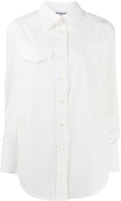 Courreges One Pocket Buttoned Shirt